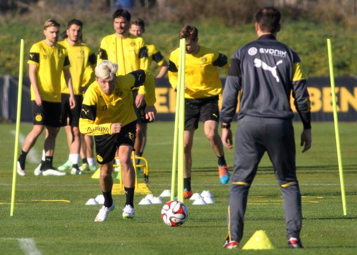 Borussia Dortmund Training Camp, La Manga Club, SPain